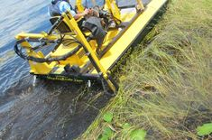 Photo Gallery | Pond Cleaning Services | Aquatic Weed Control Pond Cleaning, Weed Control, Cleaning Services, Location Map, West Palm Beach, Heavy Equipment, Photo Galleries, Boat, Construction
