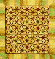 Twisted Star ~ Quiltworx.com, made by Certified Instructor, Diana Simkins
