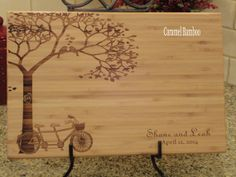 Personalized Cutting Board, Cutting Board, Lasered Engraved, Wedding Present, Anniversary Gift, Bridal Shower Gift, Christmas Present