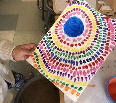 Black History Artist: Alma Woodsey Thomas · Art Projects for Kids Elementary Art Rooms, Art Lessons Elementary, Classroom Art Projects, Art Classroom, Kindergarten Art Activities, African Art Projects, Abstract Art For Kids, History Projects, Alma Thomas