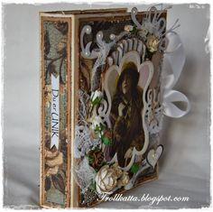Vintage Tea Light Card Vintage Tea, Tea Lights, Decorative Boxes, Paper, Cards, Inspiration, Home Decor, Biblical Inspiration, Decoration Home