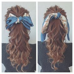 Let& tickle a man& heart with a fashionable ponytail! Bandana Hairstyles, Pretty Hairstyles, Easy Hairstyles, Girl Hairstyles, Instagram Hairstyles, Hair Arrange, Hair Dos, Hippie Style, Turban