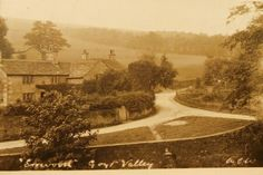 Errwood, Goyt Valley before reservoir was built. This area now under water