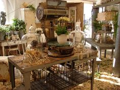 shabby industrial chicness