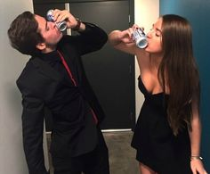 The 17 Stages Of Every College Date Function  #college #formal #college formal #dress #black dress #heels #couples #college couples #fraternity #sorority #greek life #penn state