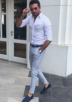白シャツの着こなし・コーディネート一覧【メンズ】 | Italy Web