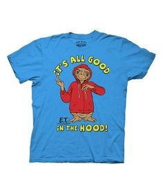 Look at this #zulilyfind! Blue E.T. 'It's All Good' Tee - Men's Regular #zulilyfinds