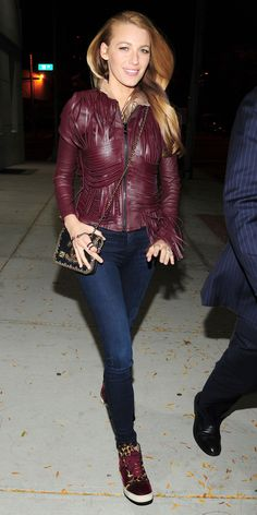 Blake Lively Proves the Sneaker Trend Is Still Going Strong With Her Latest Ensemble from InStyle.com