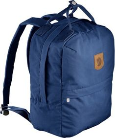 Fjallraven Greenland Zip Pack - 16 Liters Deep Blue 16 L Mothers Bag, Designer Backpacks, Deep Blue, Laptop Sleeves, Carry On, Nordstrom, Street Style, Unisex, Summer
