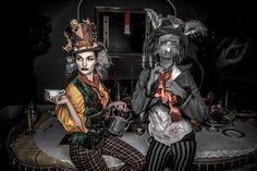 DIY Alice in Wonderland The Mad Hatter Costume   Your Costume Idea for Halloween, Mardi Gras and Carnival