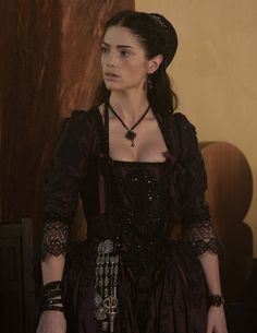The Enchanted Garden | Janet Montgomery as Mary Sibley in Salem (TV...