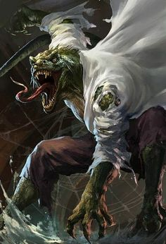 This is what the lizard should have looked like in the movie!