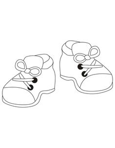 Printable Shoe coloring page from FreshColoringcom gifts