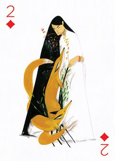 2 of Diamonds by Jon Lau