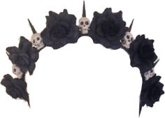 Skull Flower Crown