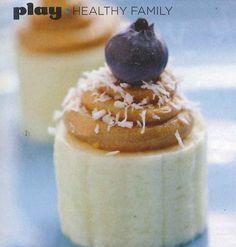 "Banana ""Cupcake"" Recipe via @Charlene Haugsven (My Frugal Adventures) // #KidFriendly #banana #recipe"