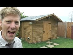 How to build a really SOLID shed - YouTube