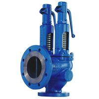 """Pop valve is a type of valve, when opens a little; allows the steam to pass via the lower seat and simultaneously act on the bigger upper diameter. This causes spring force and the valve jumps up to fully open with a """"pop"""".  We manufacture & export premium quality Pop Safety Valves which are appreciated by our national as well as international clients. We are the leading Safety Valve Supplier in India.  #safetyvalves #reliefvalves #pressuresafetyvalves #safetyvalveindia…"""