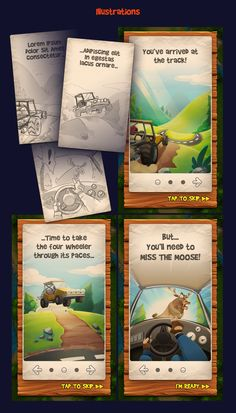 Miss The Moose Game Design Process on Behance