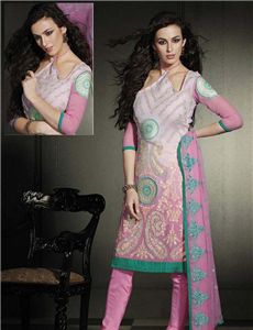- Designer Embroidery Unstitched Suit with Hand work Salwar Suits, Indian Outfits, Embroidery, Elegant, Collection, Design, Classy, Drawn Thread, Design Comics