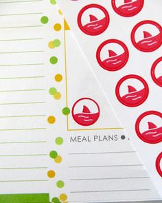 Shark Fin/Period Tracker Planner Stickers for Erin Condren Planner, Filofax, Plum Paper by PlannerPenny on Etsy https://www.etsy.com/listing/231845978/shark-finperiod-tracker-planner-stickers