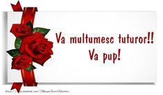 Felicitari de multumire - Va multumesc tuturor! Va pup! - mesajeurarifelicitari.com Pup, Frame, Haircuts, Picture Frame, Dog Baby, Puppies, Frames, Puppys