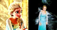 Look at Elsa dabbin Disney Stuff, Disney Movies, Disney Characters, Elsa Frozen, Disney Frozen, Ouat, Frozen 2013, Disney Princess Dresses, Queen Elsa