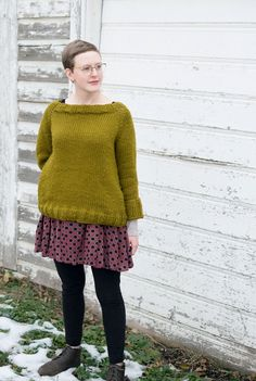 Sarah's Cozy Pocket Sweater | Fancy Tiger Crafts