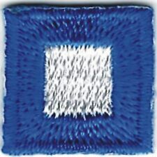 """5//8/"""" International Maritime Nautical Signal Flag Letter B Bravo Embroidery Patch"""