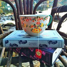 Tea and books are th