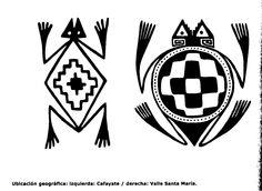 simbolo mapuche - Buscar con Google Native American Animals, Native American Patterns, Native American Design, Native Design, Native Symbols, Native Art, Indian Symbols, Arte Tribal, Tribal Art