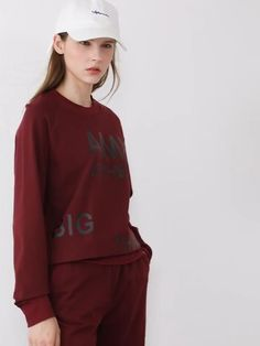 Brand Name: Amii Clothing Length: REGULAR Age: Ages 18-35 Years Old Collar: O-Neck Pant Closure Type: Elastic Waist Material: Cotton Material: Spandex Gender: WOMEN Closure Type: Pullover Style: Office Lady Sleeve Style: REGULAR Sleeve Length(cm): Full Model Number: 12040438 Pant Length(cm): Ankle-Length Pants Pattern Type: Letter