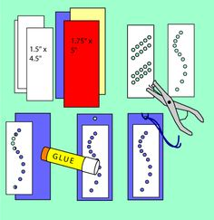 Punched Bookmarks