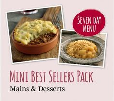 Mini Best Sellers Pack (Mains & Desserts) Best Sellers, Maine, Oatmeal, Packing, Meals, Breakfast, Desserts, Food, The Oatmeal