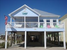 Smaller but has private pool and  across the street from beach.  House vacation rental in Gulf Shores from VRBO.com! #vacation #rental #travel #vrbo Gone for 2014