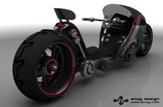 Recumbent Motorcycle at Znug Design