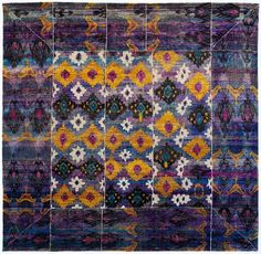 "Silk Ethos 8'8""x8'10"": Ethos oriental rugs runner rugs outdoor rugs bath rugs antiques rugs kitchen rugs bathroom rugs round rugs modern rugs carpets NYC - ABC Carpet & Home"