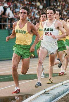 Steve Prefontaine (January 1950 - May Basketball Workouts, Running Workouts, Nike Running, Trail Running, Steve Prefontaine, 1972 Olympics, Running Posters, Cross Country Running, Runner Girl