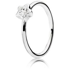 Pandora Star Shine Ring 190977CZ (165 PEN) ❤ liked on Polyvore featuring jewelry, rings, star ring, polish jewelry, star jewelry and polish rings