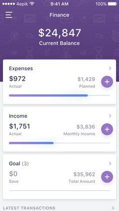 Finance app main