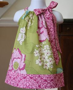 girls Easter dresses Pillowcase Dress michael by BlakeandBailey, $19.99