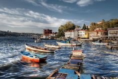 Cengelkoy istanbul turkey by belkibirgun on DeviantArt Istanbul Travel, Boat Art, Magic City, Dream City, Turkey Travel, Vacation Places, Beautiful Places To Visit, Amazing, The Good Place
