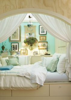 Reading nook/bed nook