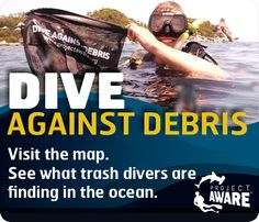 Let's #CleanUpEurope on 10 May | #ProjectAWARE #marinedebris #plasticpollution #DiveAgainstDebris