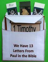 Paul's letters writtern from jail #freeprintable @ Megan Stewart