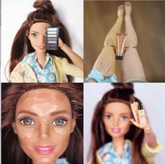 Barbie loves Younique makeup too!!