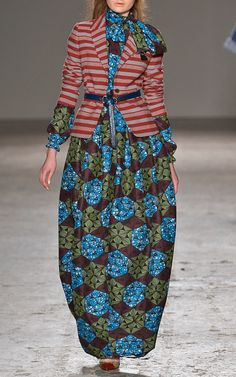 Stella Jean Fall/Winter 2014 Trunkshow Look 26 on Moda Operandi