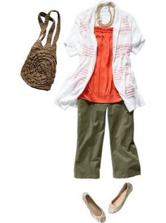 Cute look, from Old Navy, of all places!