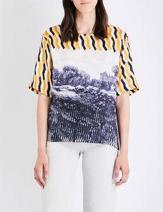 DRIES VAN NOTEN Hardison cotton-blend top