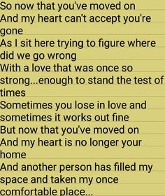 "Was listening to ""Someone like you"" by Adele and the words starting flowing (part 1)...."